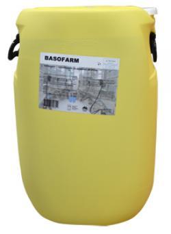 Basofarm, désinfectant alcalin pour matériel de traite, tank à lait, rotoluve