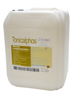 Tonicalphos, apport calcium, phosphore, déroulement de mise bas, contraction utérine