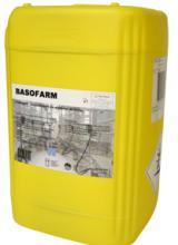 Basofarm, désinfectant alcalin, matériel de traite, tank à lait, rotoluve