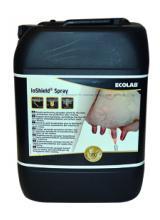 Shield pulvérisable trayons après traite pour désinfection et protection