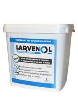 Larvenol, larvicide pour bâtiment trac, épandage à sec