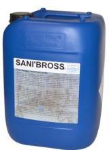 Sanibross, détergent, désinfectant brosse, robots traite, griffes